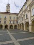 Courtyard in the University, Vilnius, Lithuania, Baltic States Photographic Print by Gary Cook