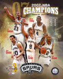 2007 Spurs NBA Champions Composite Photo