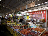 Market, Antibes, Alpes Maritimes, Provence, Cote d'Azur, French Riviera, France Photographic Print by Angelo Cavalli