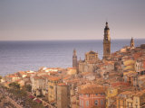 Menton, Alpes Maritimes, Provence, Cote d'Azur, French Riviera, France, Mediterranean Photographic Print by Angelo Cavalli