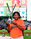 Vladimir Guerrero - 2007 Home Run Derby Trophy Photo