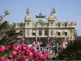 The Casino, Monte Carlo, Monaco, Cote d'Azur Photographic Print by Angelo Cavalli