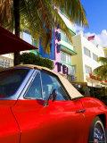 Ocean Drive, South Beach, Miami Beach, Florida, USA Photographic Print by Angelo Cavalli
