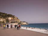 Nice, Alpes Maritimes, Provence, Cote d'Azur, French Riviera, France, Mediterranean Photographic Print by Angelo Cavalli