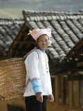 Woman of Yao Minority, Longsheng Terraced Ricefields, Guilin, Guangxi Province, China Photographic Print by Angelo Cavalli