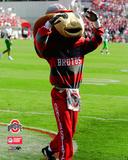 Brutus Buckeye - O.S.U. Mascot Photo