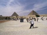 Pyramids, Giza, Unesco World Heritage Site, Cairo, Egypt, North Africa, Africa Photographic Print by Robert Harding