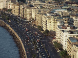 Marine Drive, Bombay City (Mumbai), India Photographic Print by Alain Evrard