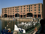Albert Dock, Liverpool, Merseyside, England, United Kingdom Photographic Print by Peter Scholey