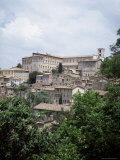 Todi, a Typical Umbrian Hill Town, Umbria, Italy Photographic Print by Tony Gervis