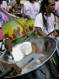 Steel Band Festival, Point Fortin, Trinidad, West Indies, Caribbean, Central America Photographic Print by Robert Harding