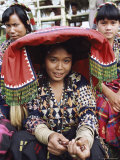 Women of the T'Boli Tribal People, South Cotabato Province, Mindanao, Philippines Photographic Print by Alain Evrard