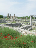 Town Built for Octavia Over the Assassins of Julius Caesar in 42 Bc, Philippi (Filipi), Greece Photographic Print by Tony Gervis