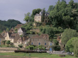 View of Limeuil Across the River Dordogne, Dordogne, Aquitaine, France Photographic Print by Peter Higgins