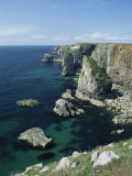 Elegug Stacks, Pembrokeshire, Wales, United Kingdom Photographic Print by Chris Nicholson