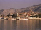 Korcula Old Town, Korcula Island, Dalmatia, Croatia Photographic Print by Peter Higgins
