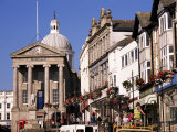 Market House Dating from 1838, Market Jew Street, Penzance, Cornwall, England Photographic Print by Ken Gillham