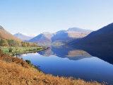 Wastwater, Lake District National Park, Cumbria, England, United Kingdom Fotoprint van Jonathan Hodson