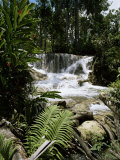 Dunns River Falls, Jamaica, West Indies, Caribbean, Central America Photographic Print by Robert Harding