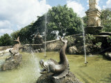 Fountain, Altos De Chavon, Dominican Republic, West Indies, Central America Photographic Print by Ken Gillham