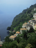 Village of Domaso, Lake Como, Lombardia, Italian Lakes, Italy Photographic Print by Tony Gervis
