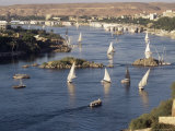 View of the River Nile, Aswan, Egypt, North Africa, Africa Photographic Print by Robert Harding