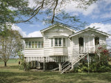 Queenslander, a Rural House, Near Mackay, Queensland, Australia Photographic Print by Ken Gillham