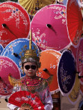 Boy in Shan Costume at Handicraft Festival, Chiang Mai, Thailand, Southeast Asia Photographic Print by Alain Evrard
