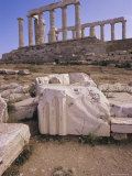 Temple of Poseidon, Cape Sounion, Greece Photographic Print by Ken Gillham