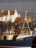 Fishing Boats, Pittenweem, Fife, Scotland, United Kingdom Photographic Print by Jonathan Hodson