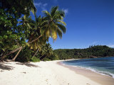Anse Takamaka, Island of Mahe, Seychelles, Indian Ocean, Africa Photographic Print by Robert Harding