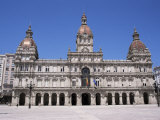 Town Hall, La Coruna, Galicia, Spain Photographic Print by Ken Gillham