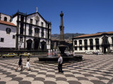Praca Do Municipio, Funchal, Madeira, Portugal Photographic Print by Ken Gillham