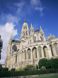 Notre Dame Cathedral, Bayeux, Basse Normandie (Normandy), France Photographic Print by Peter Higgins
