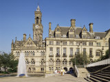 Town Hall, Bradford, Yorkshire, England, United Kingdom Photographic Print by Peter Scholey