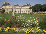Palais Du Luxembourg and Gardens, Paris, France Photographic Print by Ken Gillham