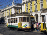 Tram, Lisbon, Portugal Photographic Print by Peter Higgins