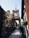 Eastgate Clock, Chester, Cheshire, England, United Kingdom Photographic Print by Peter Scholey