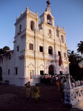 Church of the Immaculate Conception, Panaji Town, Goa, India Photographic Print by Alain Evrard