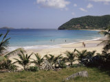 Beach at Anse Des Flamands, St. Barthelemy, Lesser Antilles, Caribbean, Central America Photographic Print by Ken Gillham