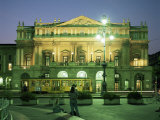 La Scala Opera House, Milan, Lombardia, Italy Photographic Print by Peter Scholey