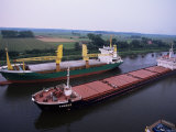 Nord Ostsee Kanal, Kiel Canal, Germany Photographic Print by Ken Gillham