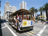 Cable Car, Union Square Area, San Francisco, California, USA Photographic Print by Robert Harding