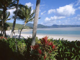Resort Beach, Hayman Island, Whitsundays, Queensland, Australia Photographic Print by Ken Gillham