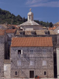 Old Korcula Town Houses, Korcula Island, Dalmatia, Croatia Photographic Print by Peter Higgins