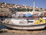 Fishing Boat and Tackle, France Photographic Print by Ken Gillham