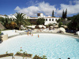 Swimming Pool, Hotel Tecini, Santiago, La Gomera, Canary Islands, Spain Photographic Print by Robert Harding
