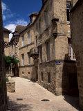 Narrow Street, Sarlat, Dordogne, Aquitaine, France Photographic Print by Jonathan Hodson