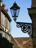 Lamp in the Upper Town, Zagreb, Croatia Photographic Print by Ken Gillham