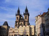 Tyn Church, Prague, Czech Republic Photographic Print by Jonathan Hodson